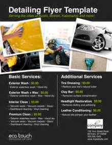 Mobile Car Upholstery Repair Auto Detailing Flyer And Template