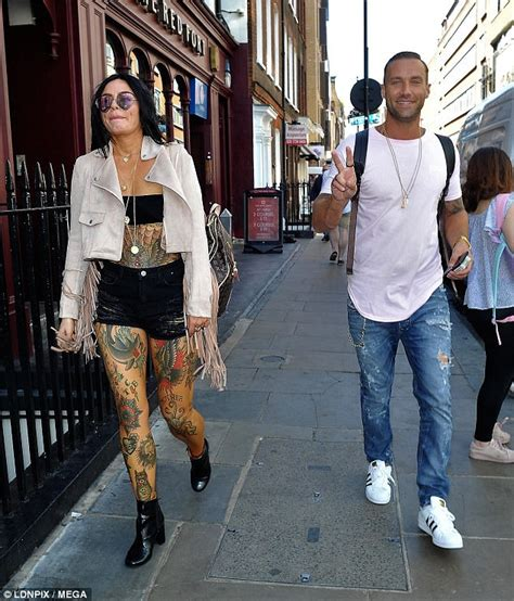 Calum Best Is Still A Fame by Calum Best Does A Spit Pact With Tattooed Daily
