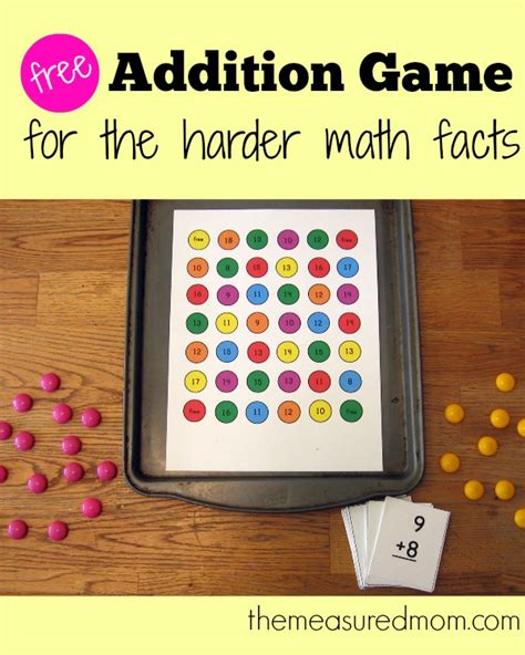 printable addition games addition games printable images