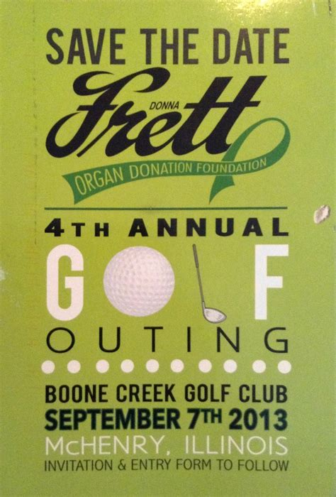 Golf Outing Golf And Flyers On Pinterest Fundraiser Save The Date Templates