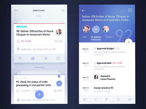 app design view tab bars in mobile ui design showcase of impressive app