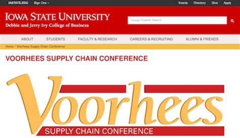 Iowa State U Mba Supply Chain by 50 Top Supply Chain Management Conferences In 2018 Camcode