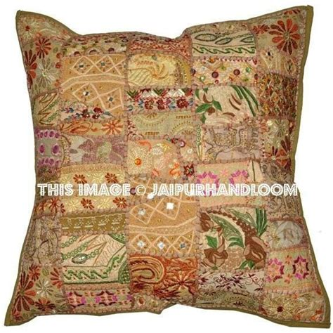 24 quot beige sofa cushions buy patchwork throw pillows