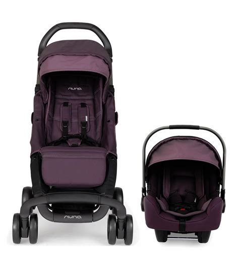 Sale Stroller Nuna Pepp Blackberry nuna pepp pipa travel system blackberry