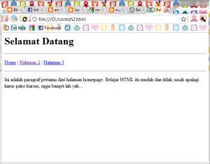 cara membuat website dengan kode html blog berbagi informasi