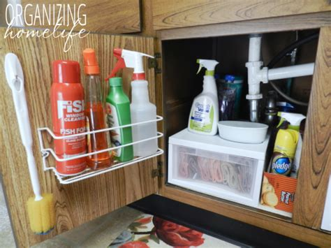 how to organize your sink organize your kitchen