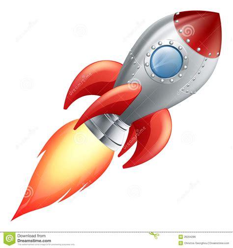Raket Z de raket ruimteschip het beeldverhaal vector