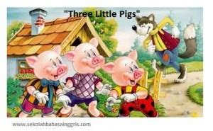 Bundling Dan Three Pigs Anak dongeng singkat tiga anak babi three pigs dalam