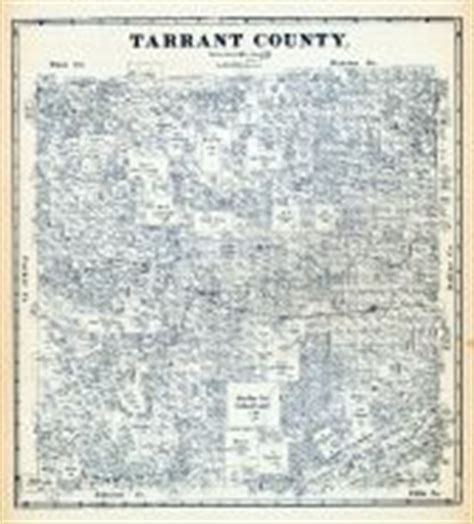 Tarrant County Number Search Tarrant County 1885 Historical Atlas