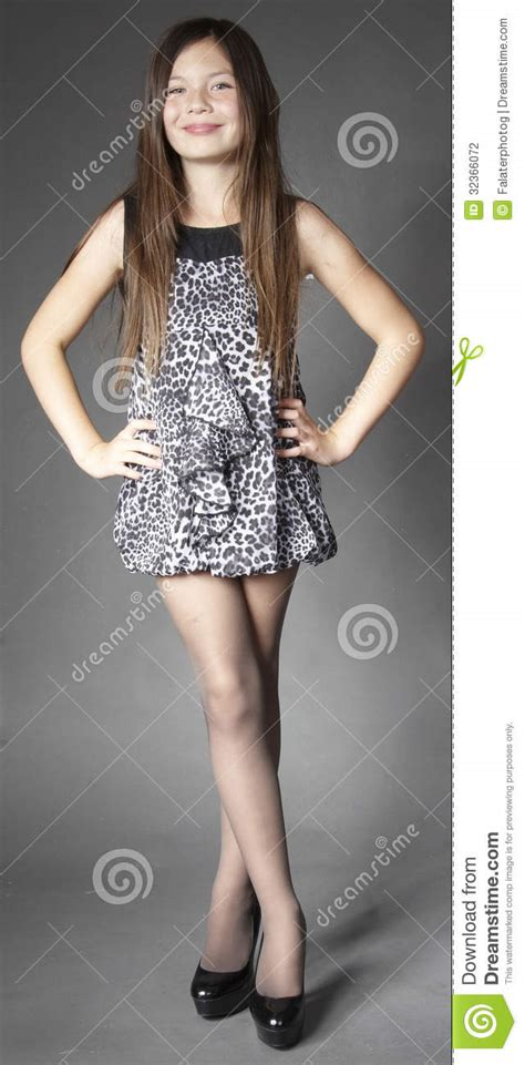 sonya librechan teen girl fashion modeling stock photo image of crossed