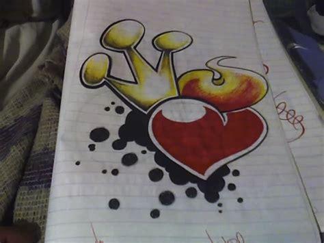 graffitis de corazn graffitis de corazones imagui