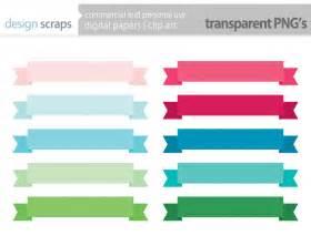banner label template ribbon banner clip frames labels digital by designscraps