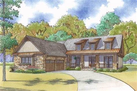 courtyard garage house plans craftsman house plan with courtyard garage and rustic