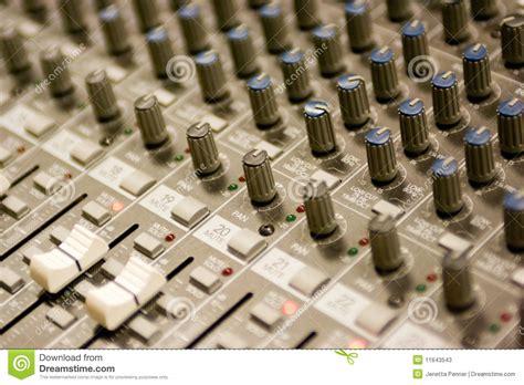 Soundboard Knobs by Soundboard Stock Photos Image 11643543