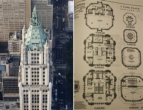 nyc building floor plans woolworth building new york woolworth building condos