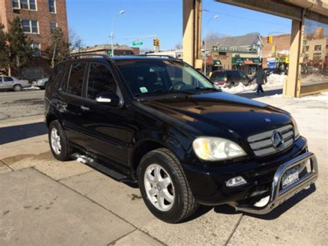 how things work cars 2003 mercedes benz m class electronic throttle control buy used 2003 mercedes benz ml 350 inspiration edition low miles no reserve in brooklyn