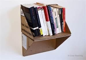 Cardboard Bookshelf Diy Diy Cardboard Crafts Cardboard Crafts Diy Cardboard And