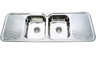 Trend 1500   Double Bowl Double Drainer Sink   KELSO