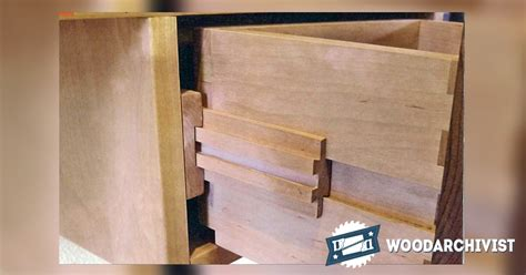 wooden drawer slides plans making wooden drawer slides woodarchivist