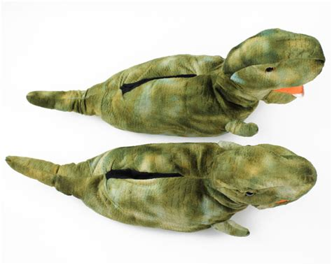 dinosaur house shoes t rex slippers dinosaur slippers tyrannosaurs rex slippers