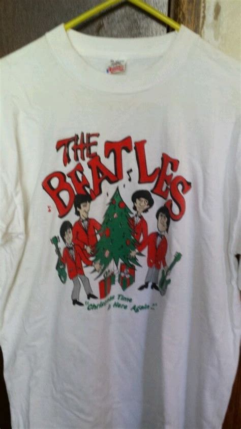 Sweater The Batles the beatles t shirt size xl fruit of the loom