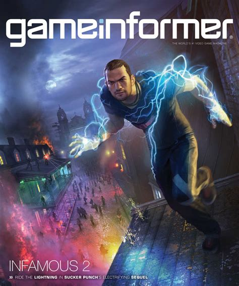 Game Informer Giveaway - game informer cover confirms infamous 2