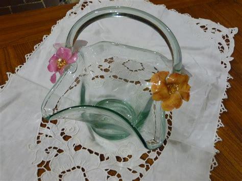 decoupage su vaso di vetro sospeso trasparente su vaso di vetro veroncoop s