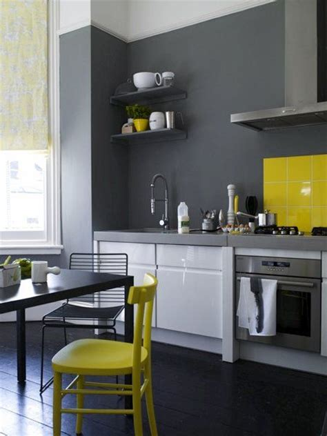 gray and yellow kitchen gray yellow kitchen kitchen pinterest