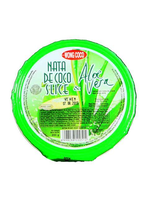 Inaco Dessert Aloevera 200g wong coco sari kelapa dugan aloe vera cup 200g