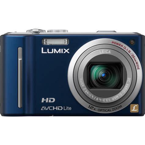 panasonic digital panasonic lumix dmc zs7 blue digital dmc zs7a b h