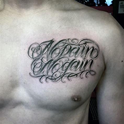tattoo pain upper chest 90 gui 243 n tatuajes para los hombres cursive de tinta