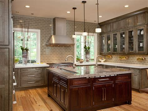 diverse kitchen ideas with island and decor