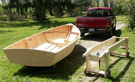 detail plans for small plywood boats for boat maker