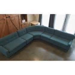 mid century modern sectional sofa mid century modern sectional sofa chairish