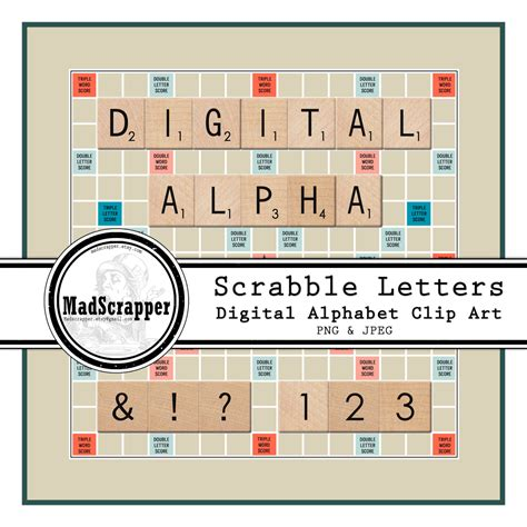 digital scrabble digital alphabet scrabble tiles digital clip letters
