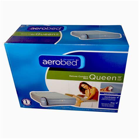 aerobed deluxe comfort height air mattress ebay