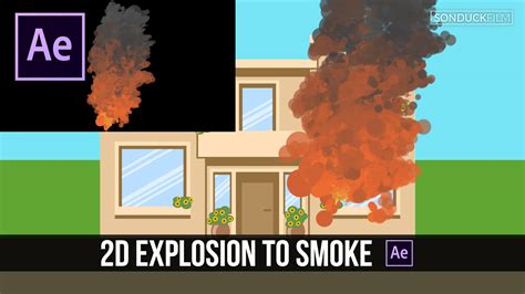 tutorial after effect bomb after effects tutorial fiery explosion to smoke cartoon