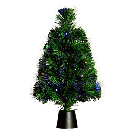 faux tiny christmas trees 45cm optical fiber artificial mini tree colorful lights small tree