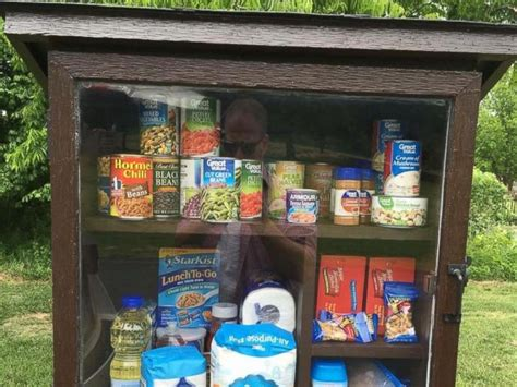 Free Food Pantries by Pantry Where Can Leave Products For