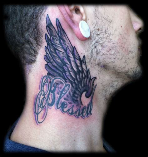 neck tattoos for men designs 30 neck designs for