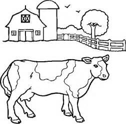 cow colors cow coloring pages