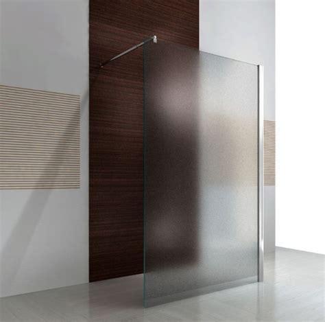 duschabtrennung milchglas duschabtrennung walk in nano echtglas ex101 milchglas