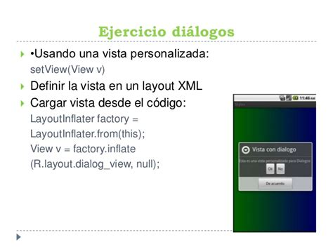 layoutinflater factory taller android utpl estilos y di 225 logos