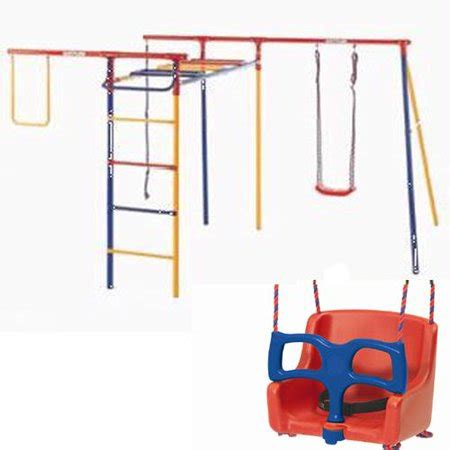 kettler swing set kettler kit 8398 600b trimstation swing set with baby