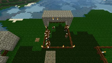 minecraft cow boat survival starter by blazeh4x0r minecraft project