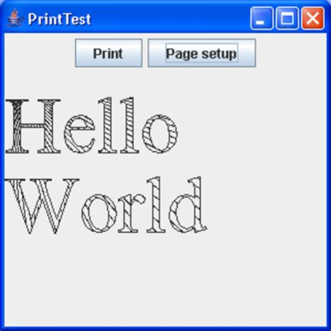 java printable html techtrony how to print 2d graphics
