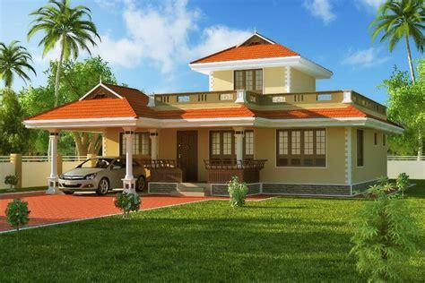 kerala home design exterior sle exterior house design 1524 sqft kerala style home 3d