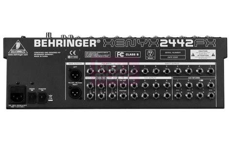 Mixer Behringer 2442fx behringer xenyx 2442 fx car interior design