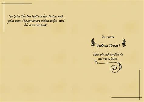 Einladungskarten Goldene Hochzeit by Einladungskarten Goldene Hochzeit Einladung Zum Paradies