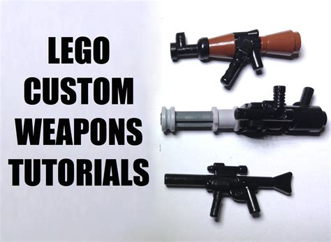 lego revolver tutorial lego custom weapon tutorial funnycat tv